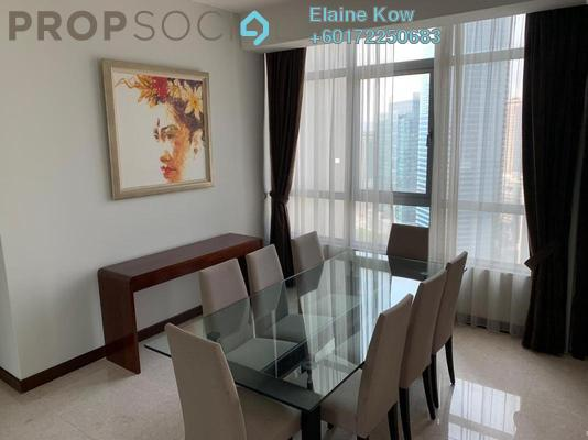 Condominium For Rent in Hampshire Residences, KLCC Freehold Fully Furnished 3R/3B 8.5k