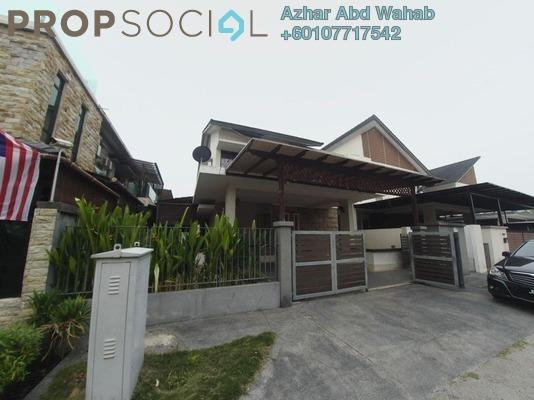 Semi-Detached For Sale in Seksyen 7, Bandar Baru Bangi Leasehold Semi Furnished 5R/4B 975k