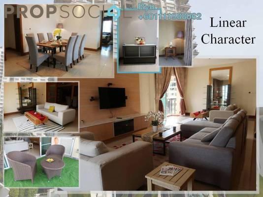 Condominium For Rent in Mont Kiara Aman, Mont Kiara Freehold Fully Furnished 3R/3B 7.5k