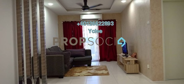 Apartment For Rent in PPA1M Bukit Jalil, Bukit Jalil Freehold Fully Furnished 3R/2B 1.4k