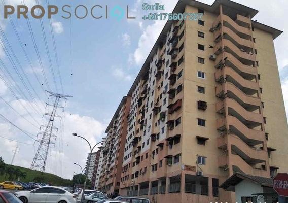 Apartment For Sale in Taman Belimbing, Seri Kembangan Freehold Unfurnished 3R/2B 160k