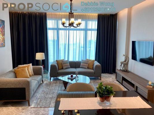 Condominium For Rent in Four Seasons Place, KLCC Freehold Fully Furnished 2R/2B 15k