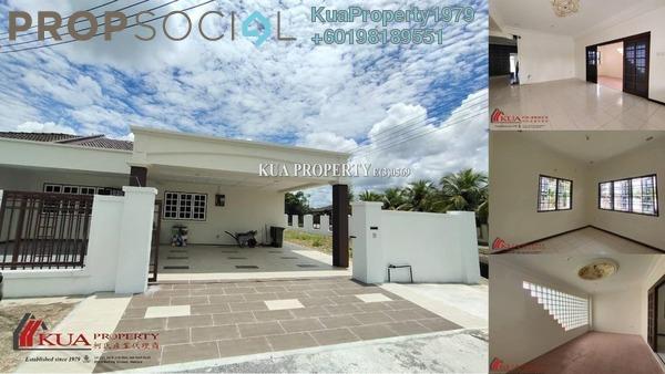 Semi-Detached For Rent in Taman Muara Tabuan, Kuching Freehold Unfurnished 3R/2B 1.4k