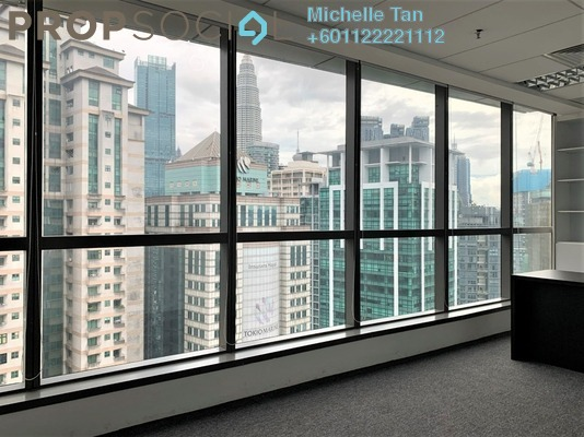 Office For Rent in KL Trillion, KLCC Freehold Semi Furnished 4R/0B 7.8k