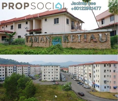 Apartment For Sale in Taman Darius, Putatan Freehold Unfurnished 3R/2B 130k