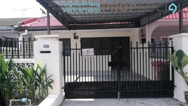 Terrace For Rent in SS3, Kelana Jaya Freehold Unfurnished 3R/2B 1.8k