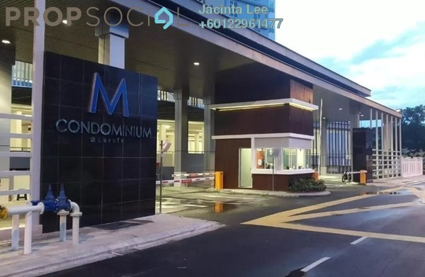 Condominium For Sale in M Condominium, Johor Bahru Leasehold Fully Furnished 3R/2B 341k