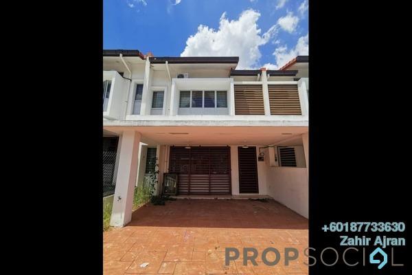 Terrace For Sale in Jalan Ambang Suria, Bandar Puncak Alam Freehold Semi Furnished 4R/3B 445k