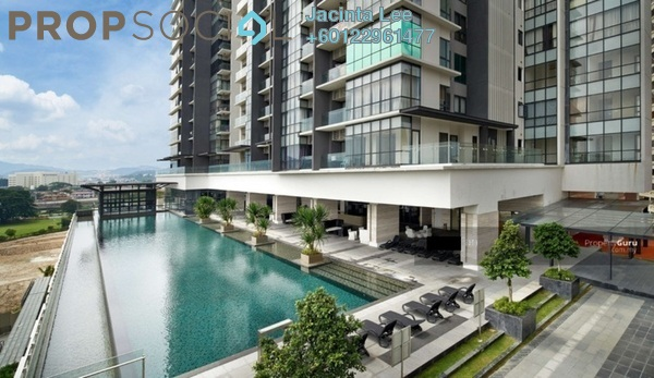 Serviced Residence For Sale in The Elements, Ampang Hilir Freehold Semi Furnished 2R/2B 492k