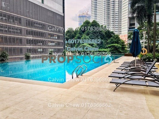 Serviced Residence For Sale in Marc Service Residence, KLCC Freehold Unfurnished 0R/0B 6m