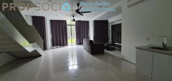 Terrace For Rent in Perdana Lakeview West, Cyberjaya Freehold Semi Furnished 3R/4B 3k