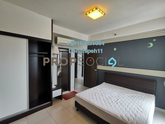 Condominium For Sale in Bayu Marina, Johor Bahru Leasehold Fully Furnished 2R/2B 308k