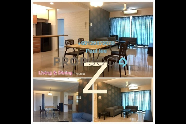 Condominium For Rent in The Zest, Bandar Kinrara Freehold Fully Furnished 3R/2B 2.3k
