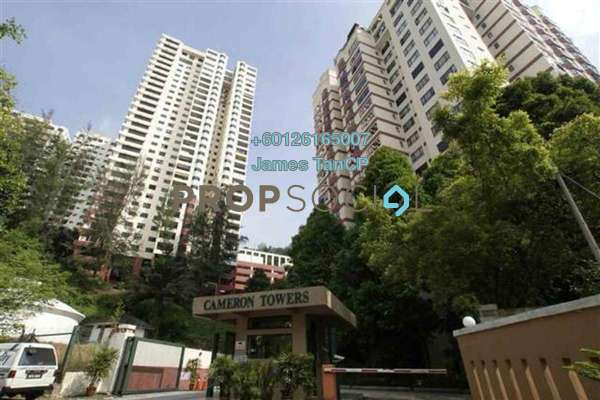 Condominium For Sale in Cameron Towers, Gasing Heights Freehold Semi Furnished 4R/2B 540k