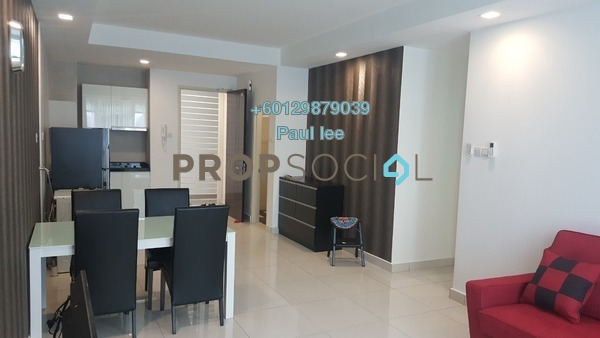 Condominium For Sale in Central Residence, Sungai Besi Freehold Fully Furnished 2R/2B 418k