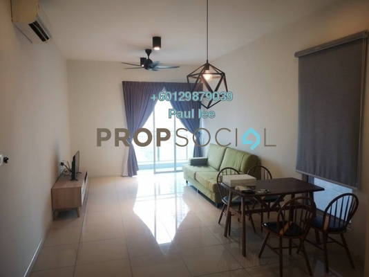 Condominium For Rent in Sunway GEO Residences, Bandar Sunway Freehold Fully Furnished 2R/3B 2.4k