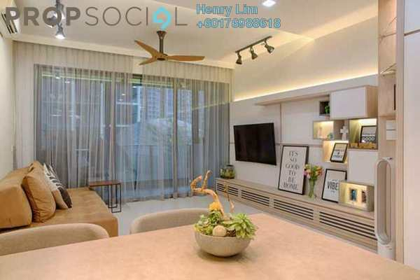 Serviced Residence For Rent in Mirage Residence, KLCC Freehold Fully Furnished 2R/2B 4.2k
