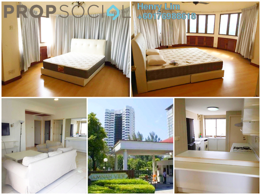 Condominium For Rent in Jamnah View, Damansara Heights Freehold Fully Furnished 2R/2B 3.3k