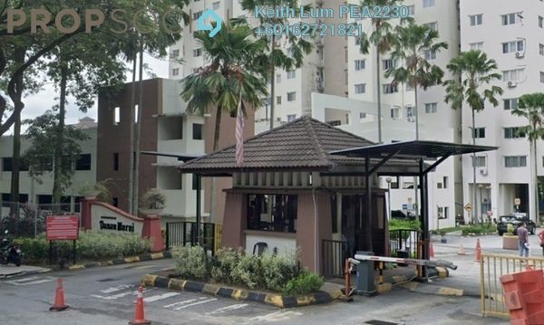 Condominium For Rent in Danau Murni, Taman Desa Freehold Semi Furnished 3R/2B 1.2k