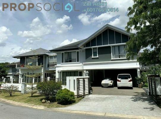 Bungalow For Sale in Meranti Terrace, Kota Kemuning Freehold Unfurnished 4R/4B 4m