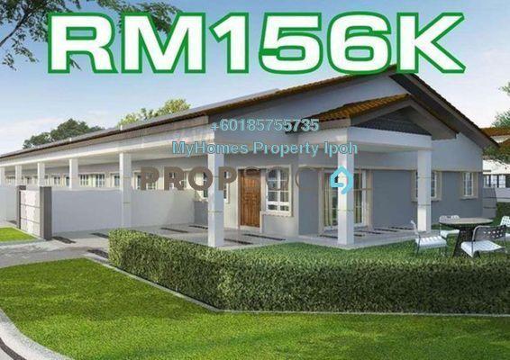 Terrace For Sale in Jalan Besar, Bidor Freehold Unfurnished 3R/2B 156k