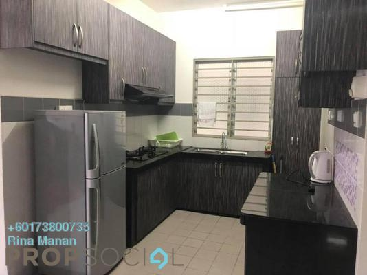 Apartment For Sale in Villa Tropika Apartment, Bangi Freehold Fully Furnished 3R/2B 290k
