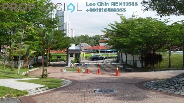 Terrace For Sale in The Oasis, Cheras South Freehold Semi Furnished 5R/4B 958k