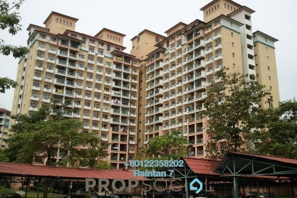 Apartment For Rent in Arena Green, Bukit Jalil Freehold Semi Furnished 2R/1B 1.05k