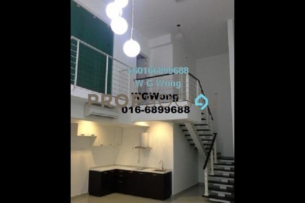Duplex For Sale in The Scott Garden, Old Klang Road Freehold Semi Furnished 2R/2B 650k