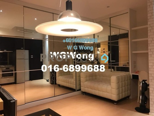 Serviced Residence For Sale in VERVE Suites, Mont Kiara Freehold Fully Furnished 1R/1B 649k