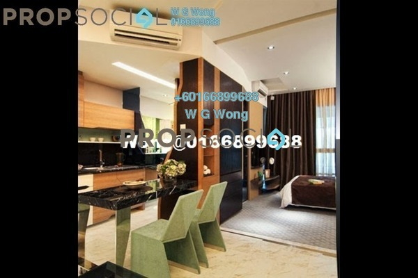 Serviced Residence For Sale in VERVE Suites, Mont Kiara Freehold Fully Furnished 1R/1B 659k