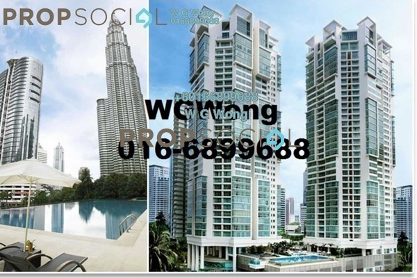 Condominium For Sale in Marc Service Residence, KLCC Freehold Fully Furnished 1R/1B 790k