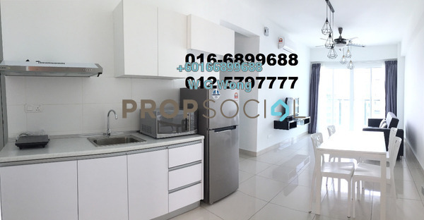 Condominium For Rent in Penang World City, Batu Uban Freehold Fully Furnished 3R/2B 1.75k