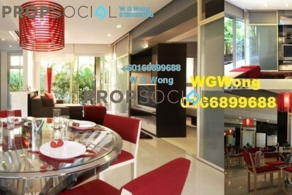 Serviced Residence For Sale in VERVE Suites, Mont Kiara Freehold Fully Furnished 2R/2B 988k