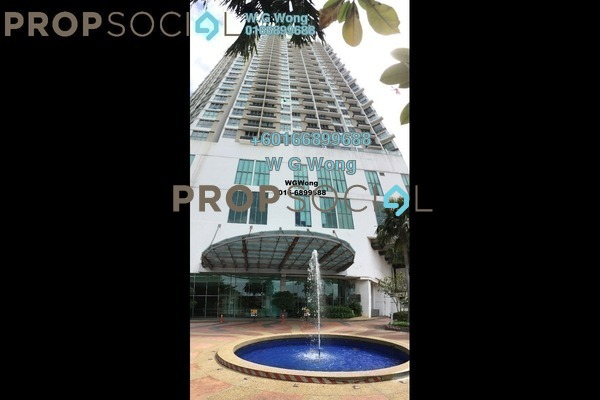 Serviced Residence For Sale in Tropicana City Tropics, Petaling Jaya Freehold Fully Furnished 2R/2B 618k