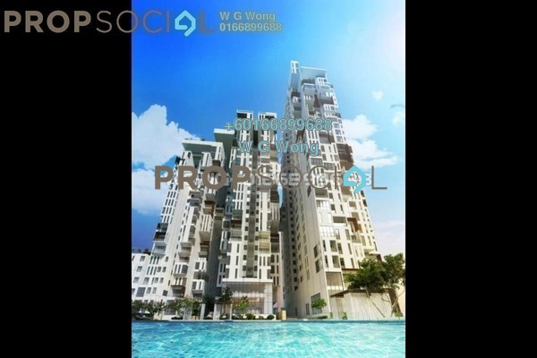 Condominium For Rent in Icon Residence (Mont Kiara), Dutamas Freehold Fully Furnished 1R/2B 3.3k