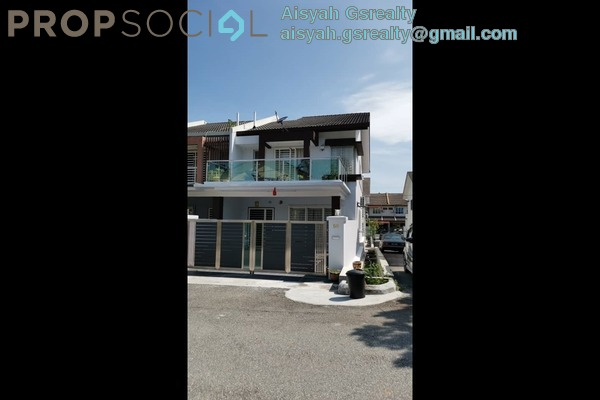 Terrace For Sale in Section 4, Bandar Mahkota Cheras Freehold Semi Furnished 4R/3B 755k