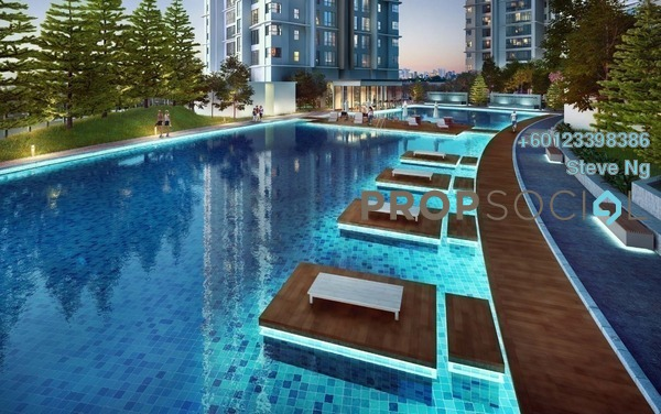 Condominium For Sale in D'Rapport Residences, Ampang Hilir Freehold Unfurnished 0R/0B 1.4m