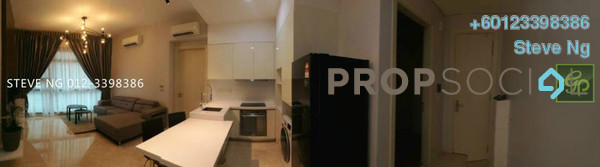 Condominium For Rent in Vogue Suites One @ KL Eco City, Mid Valley City Freehold Fully Furnished 0R/0B 3.3k