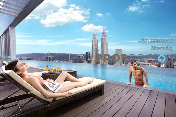 Condominium For Sale in Platinum Suites, KLCC Freehold Unfurnished 0R/0B 1.45m
