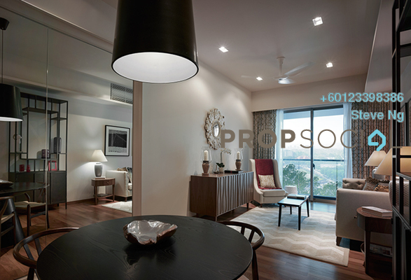 Condominium For Sale in Stonor 3, KLCC Freehold Unfurnished 0R/0B 1.5m