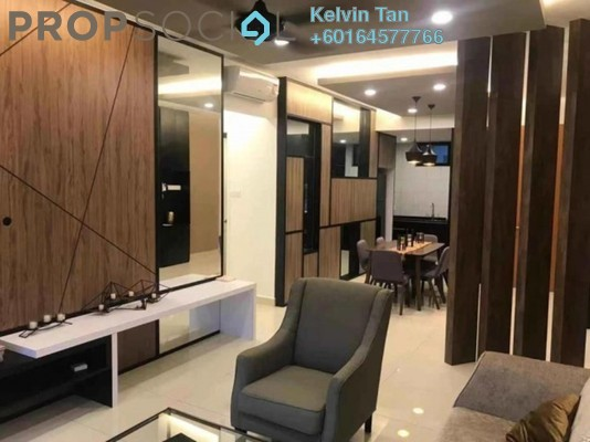 Condominium For Rent in Mont Residence, Tanjung Tokong Freehold Fully Furnished 3R/2B 2.3k