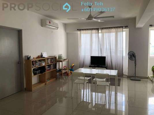Serviced Residence For Rent in Main Place Residence, UEP Subang Jaya Freehold Fully Furnished 3R/2B 1.9k