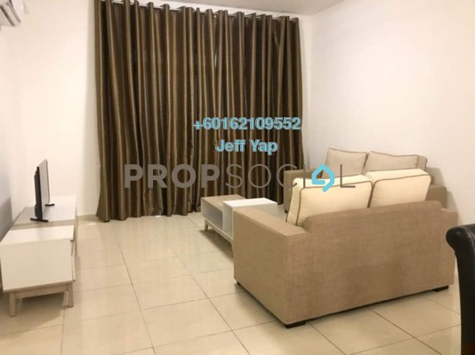 Apartment For Rent in Sky Breeze, Bukit Indah Freehold Fully Furnished 4R/3B 3.4k
