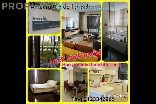 Condominium For Sale in Ameera Residences, Petaling Jaya Freehold Fully Furnished 3R/2B 1.15m
