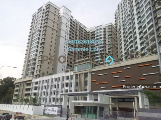 Condominium For Rent in Covillea, Bukit Jalil Freehold Fully Furnished 3R/3B 2.8k