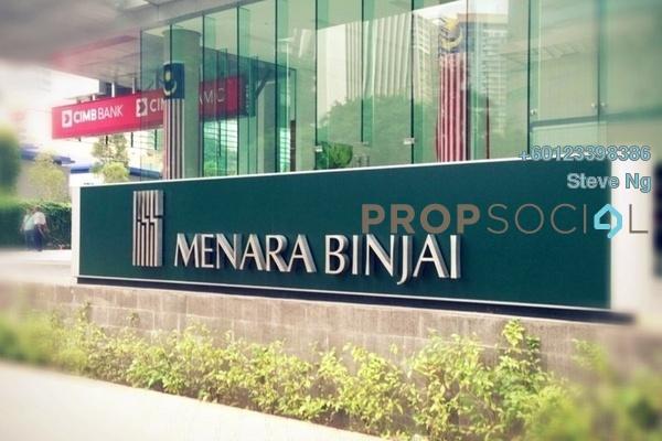 Office For Rent in Menara Binjai, KLCC Freehold Fully Furnished 0R/0B 43.2k