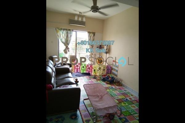Condominium For Sale in Section 6, Bandar Mahkota Cheras Freehold Semi Furnished 3R/2B 270k