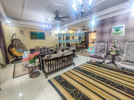 Terrace For Sale in Taman Damai Utama, Bandar Kinrara Freehold Semi Furnished 5R/4B 940k