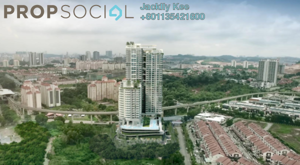 Condominium For Sale in The Como, Bukit Jalil Freehold Semi Furnished 2R/2B 630k